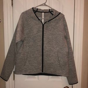 Size 10 lululemon jacket, worn once, like new!